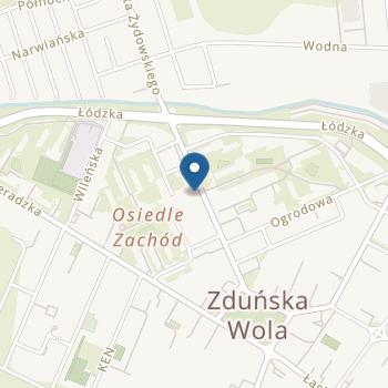 """""""Tęczowe Przedszkole"""" Publiczne Przedszkole nr 2 w Zduńskiej Woli na mapie"""