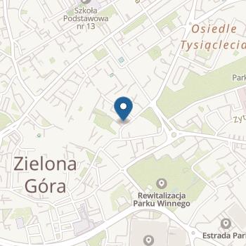 Akademia Przedszkolaka w Zielonej Górze na mapie