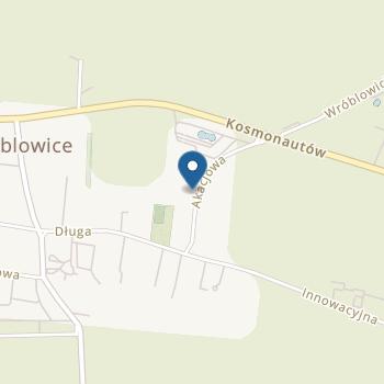 Akacjowe Przedszkole Niepubliczne Przedszkole we Wróblowicach na mapie