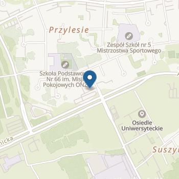 Anglojęzyczne Przedszkole Niepubliczne Smyki w Bydgoszczy na mapie