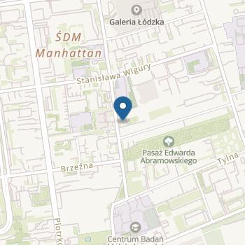 Przedszkole Little Genius w Łodzi na mapie