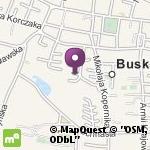 Niepubliczne Przedszkole Językowa Akademia Przedszkolaka w Busku-Zdroju na mapie