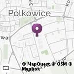 Przedszkole Miejskie nr 6 z Oddziałami Integracyjnymi i Oddziałami Specjalnymi w Polkowicach na mapie