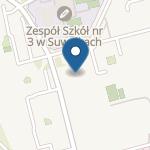 """Niepubliczne Przedszkole """"U Kubusia Puchatka"""" w Suwałkach na mapie"""
