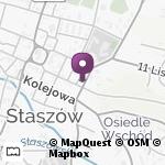 """Niepubliczne Przedszkole Specjalne """"Promyk Słońca"""" w Staszowie na mapie"""