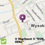 Przedszkole Miejskie nr 1 Świat Malucha w Wysokiem Mazowieckiem na mapie