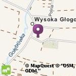 Publiczne Przedszkole w Wysokiej Głogowskiej na mapie
