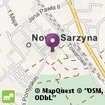Przedszkole Samorządowe Jedyneczka w Nowej Sarzynie na mapie