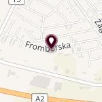 """Niepubliczne Polsko-Angielskie Przedszkole Montessori """"Nasz Świat"""" na mapie"""