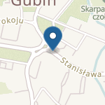 Przedszkole Miejskie nr 2, w Gubinie, ul. dr. Kunickiego 8a na mapie