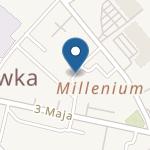 Przedszkole nr 1 w Hajnówce na mapie