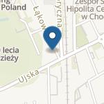 """Niepubliczne Przedszkole Językowo-Sportowe """"Czerwona Ciuchcia"""" na mapie"""