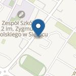 Miejskie Przedszkole nr 3 w Sierpcu im. Niedźwiadka Wojtka na mapie