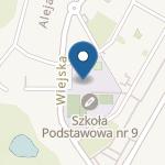 Przedszkole Integracyjne nr 9 na mapie