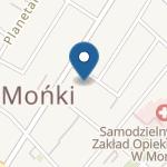 Przedszkole w Mońkach na mapie