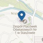 Przedszkole nr 4 im. Tadeusza Kościuszki w Staszowie na mapie