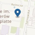 """Przedszkole nr 5 """" pod Grzybkiem"""" w Rawiczu na mapie"""