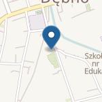 """Przedszkole nr 1 """"Czarodziejska Kraina"""" w Debnie na mapie"""