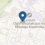 Przedszkole nr 13 w Tarnobrzegu na mapie