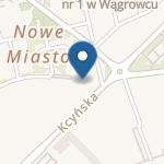 Przedszkole nr 1 w Wągrowcu im. Jana Brzechwy na mapie