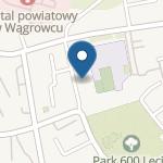 Przedszkolenr 6 w Wągrowcu im. Czerwonego Kapturka na mapie