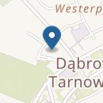 Przedszkole nr 1 w Dąbrowie Tarnowskiej na mapie