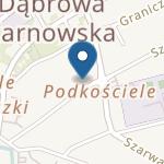 Przedszkole Niepubliczne Ochronka im. Jana Pawła II Zgromadzenie S. S. Służebniczek Nmp Np w Dąbrowie Tarnowskiej na mapie
