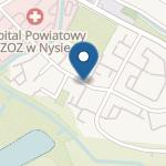 Przedszkole nr 1 w Nysie na mapie