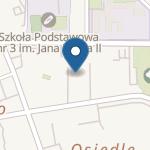 Przedszkole nr 1 w Ostródzie na mapie