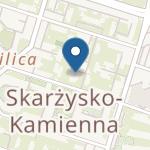 Przedszkole Publiczne nr 4 im. Jana Brzechwy w Skarżysku-Kamiennej na mapie