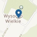 Niepubliczne Przedszkole w Wysocku Wielkim na mapie