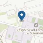 """Niepubliczne Przedszkole """"Happy Kids' Club"""" w Suwałkach na mapie"""