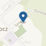 """Niepubliczne Przedszkole """"Zaczarowana Łąka"""" w Łebczu na mapie"""