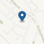 """Niepubliczne Przedszkole Językowe """"Kinderki.Pl"""" na mapie"""