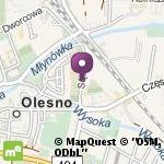 Publiczne Przedszkole nr 3 z Oddziałem Integracyjnym w Oleśnie Bajkowa Trójeczka na mapie