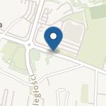 """Niepubliczne Przedszkole Marii Montessori """"Mali Odkrywcy"""" w Krośnie na mapie"""