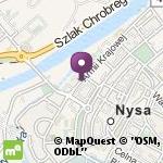 Przedszkole nr 6 w Nysie na mapie